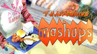 Mash Ups: Thanksgiving Crafts | Oven Mitts | Oven Turkey | Table & Chairs | Dressing & More