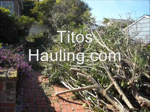 WANT TO GET RID OF UNWANTED JUNK  CALL TITO'S HAULING !!! 619-466-6723