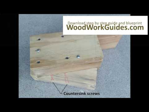 How to build a Improved Sawhorses