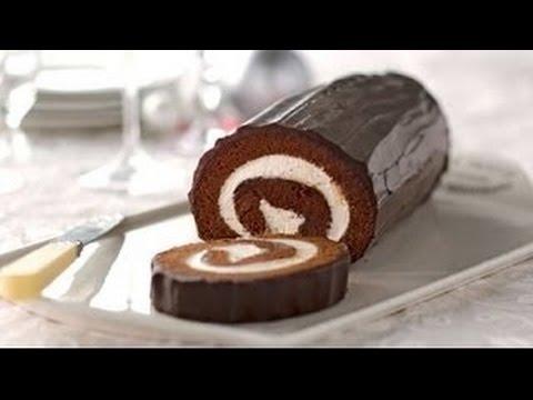 How to Make Chocolate Cake Roll Recipe