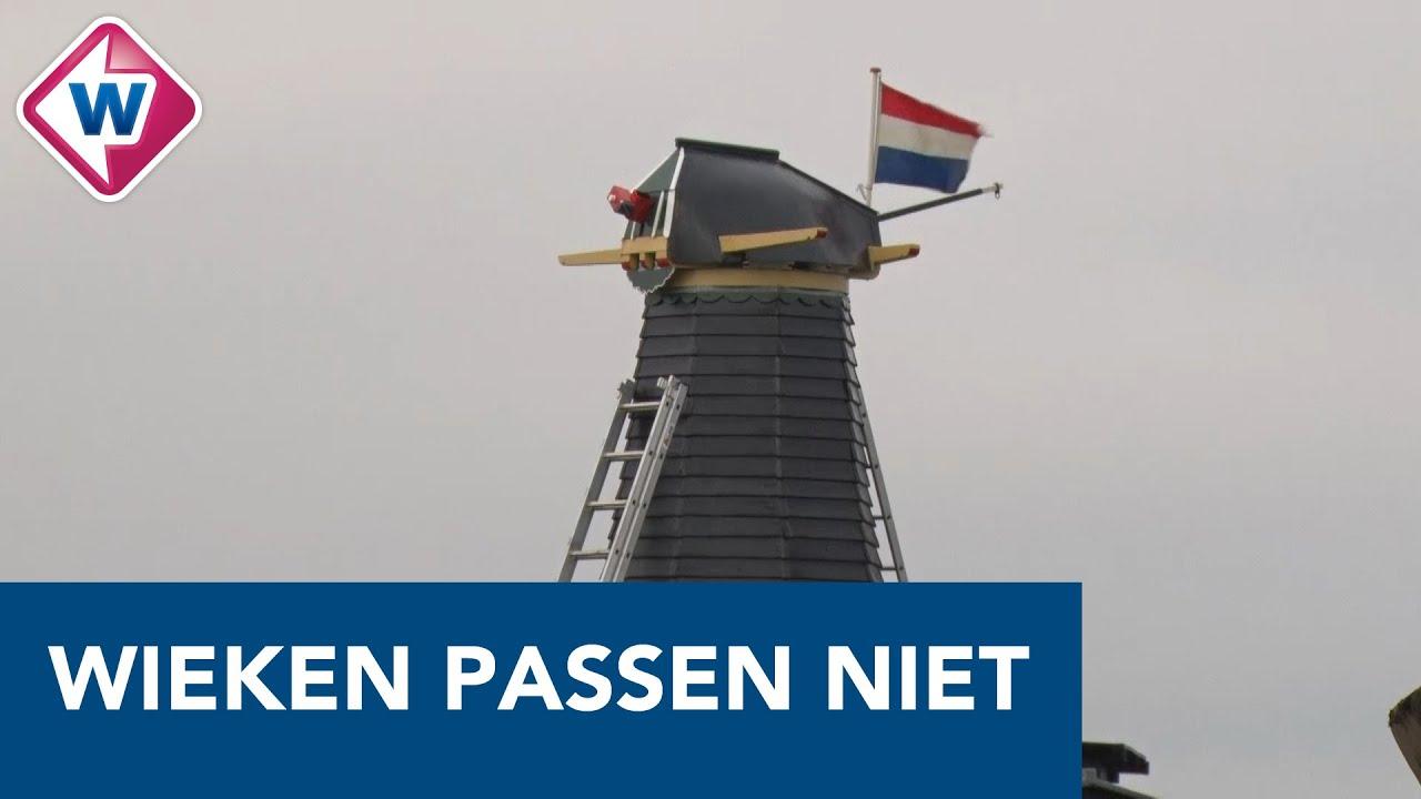 Wieken passen niet op molen in Schipluiden - OMROEP WEST