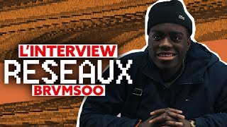 Brvmsoo Interview Réseaux : Marwa Loud tu stream ? JustRiadh tu follow ? One piece tu binges ?