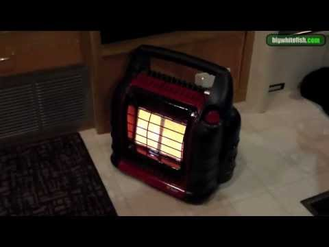 How To: Install a catalytic heater in an RV