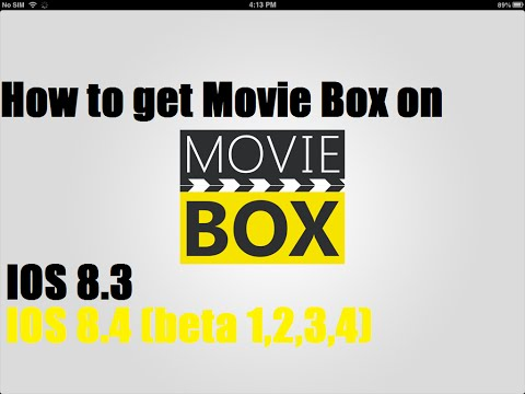 How to get Moviebox on IOS 8.3, 8.4, 8.4.1