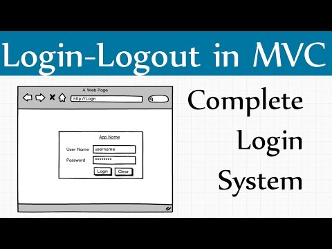 How to Create Mvc Login Page in C# Asp.net Mvc