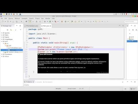 70 Java advanced RegEX IPv6 format STD HEX التعابير المنطقية بروتوكول الانترنت