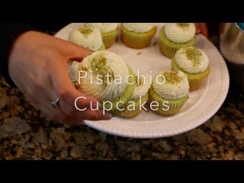 Baking Pistachio Cupcakes- Cooking by Sameera Kassam