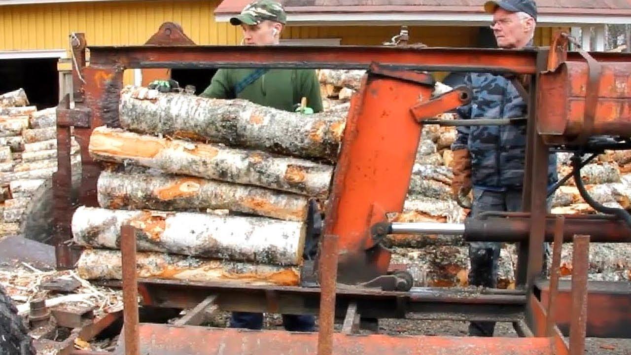 Amazing Homemade Splitter Firewood Machines ! Dangerous Fast Skills Firewood Processor
