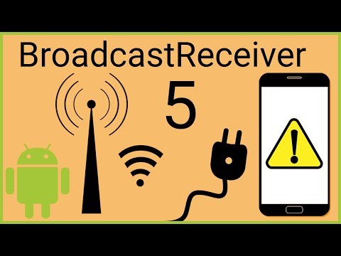BroadcastReceiver Tutorial Part 5 - ORDERED BROADCASTS - Android Studio Tutorial
