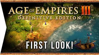AGE OF EMPIRES III: Definitive Edition ► Tutorial Basics! - Gameplay Impressions & Early Look