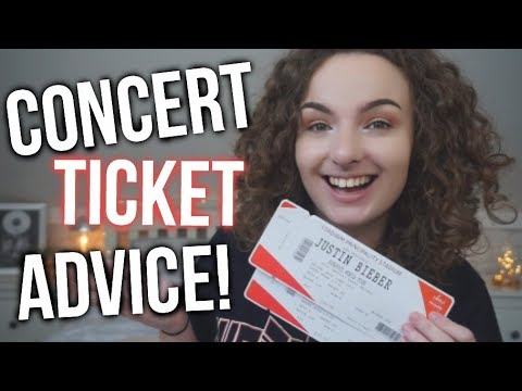 CONCERT TICKETS 101: TIPS & TRICKS!