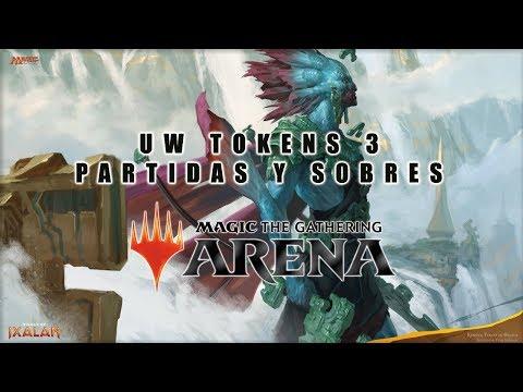 Magic Arena beta WU tokens 3