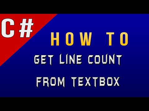 How To Get Total Number of Lines in TextBox in C#