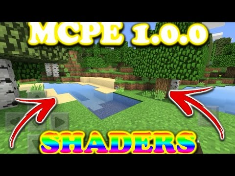 Mcpe 1.0.0 Best Shaders//Resource Pack//Get Now!!!
