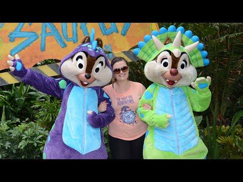 Donald's Dino-Bash at Disney's Animal Kingdom!