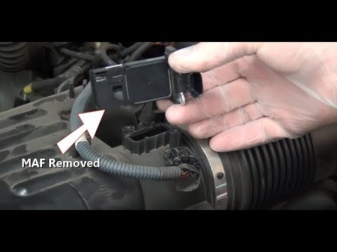 How To Remove & Cleaning MASS AIR FLOW SENSOR | simple guide | easy guide | COMPLETE Guide