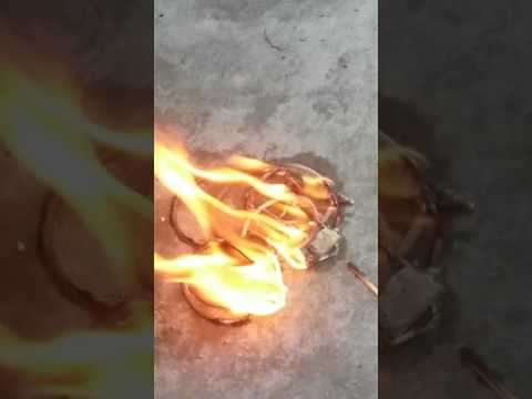 I burn my earphones with Isopropyl alcohol and matchsticks. (Part One)
