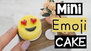 DIY MINI EMOJI CAKE - World