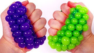 Learning Colors with Squishy Balls for Children