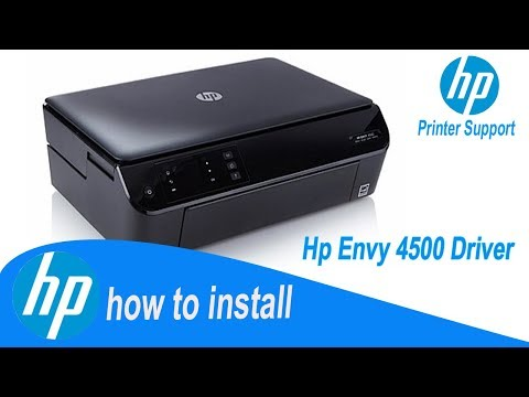 Hp Envy 4500 Driver,  How To Install