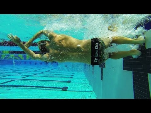 Fast Swimming Techniques - Freestyle Flip Turn - The Flip