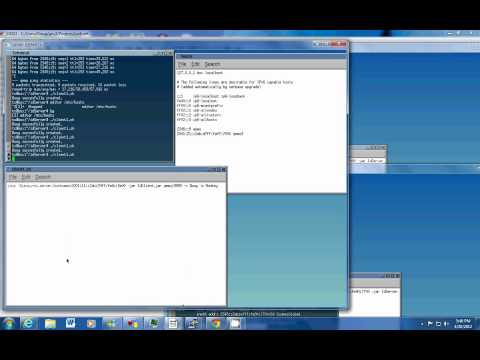 Demonstration of using Java RMI in a IPv6 anycast environment