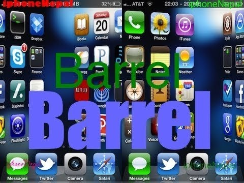 How To Get Barrel For Free From Cydia (Cydia tweak Review #1)&Review Add a 3D Effect To Your iDevice