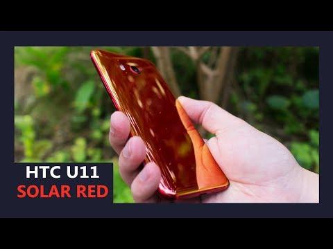 HTC U11 Solar Red hands on - Hot breath of fresh air