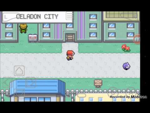 POKEMON FIRE RED:HOW TO GET TO SAFFRON CITY FROM CELADON CITY