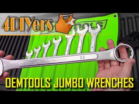 Review: OEMTOOLS 22120 Jumbo Metric Wrenches