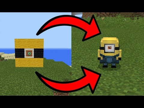 How To Spawn Minions in MCPE (Minecraft PE)