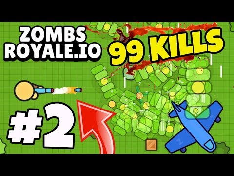 HOW DID I GET THIS VICTORY ROYALE!? - ZombsRoyale.io #2 (FORTNITE.IO)
