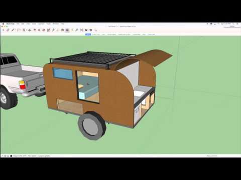 Camper Trailer Build Design