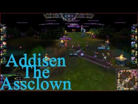 League of Legends Troll Of The Week #2 Addisen the Assclown