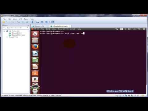Configuration de client FTP sur Ubuntu 14 04