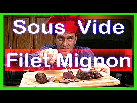 How to Make The BEST Filet Mignon Beef Tenderloin by Sous Vide