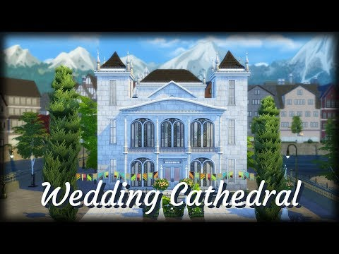 Sims 4 | House Building | Wedding Cathedral