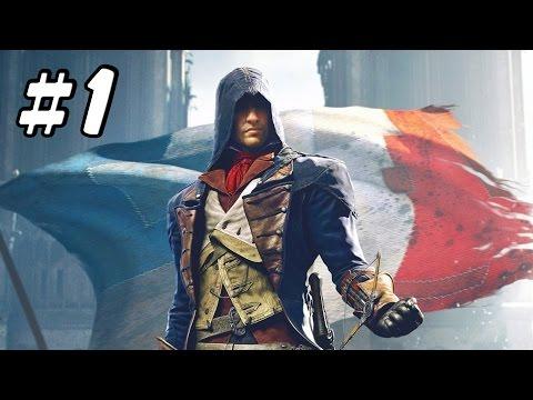 [Vietsub] ĐÀO HOA TỪ NHỎ! Assassin's Creed: Unity #1