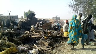 Bombardeo por error del ejercito nigeriano deja centenares de muertos