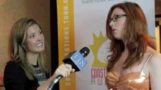 KATIE CHATS: CA, KATHERINE CURTIS, NAKED NEWS, THE CONSTELLATION AWARDS, 07/11