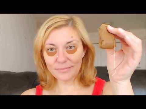 DIY HOW TO USE TEA BAGS TO GET RID OF DARK CIRCLES AND UNDER EYE BAGS AND PUFFINESS FAST