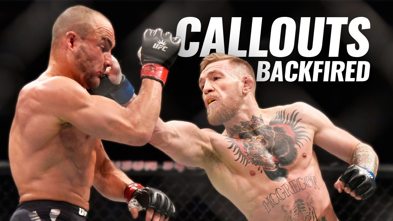 10 UFC Callouts That Backfired (Callouts Gone Wrong)