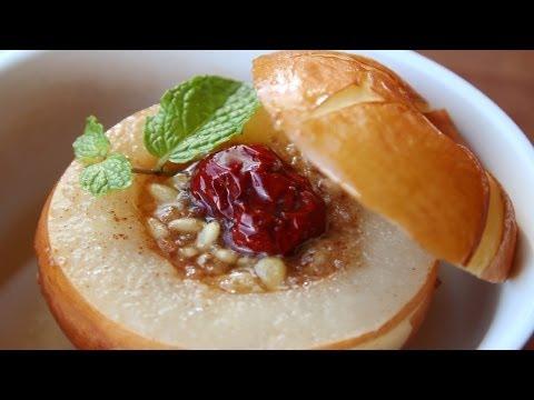 Korean Steamed Pears (Baesuk: 배숙)