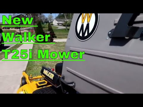 Walker T25i Mower
