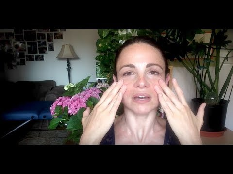How to relieve sinus pain and sinus pressure with self massage