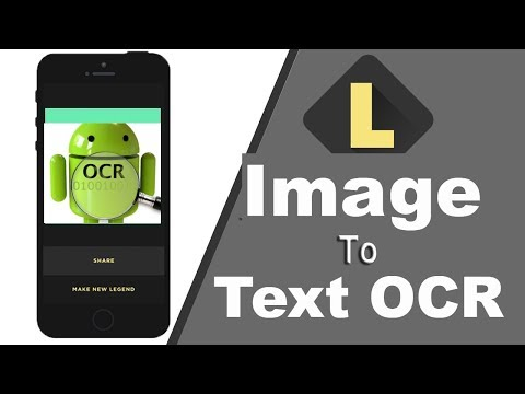 Image To Text App | Andriod OCR | Optical Character Recognition Free Download