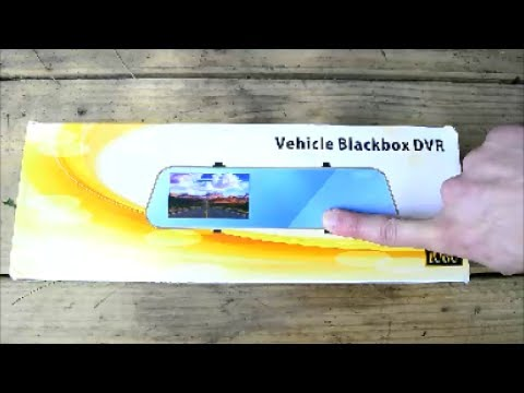 F1C Dash / Reverse Cam Review And Install (How To Wire Backup Camera)
