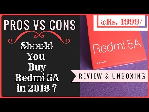Must Watch Before Buying : Redmi 5A in 2018