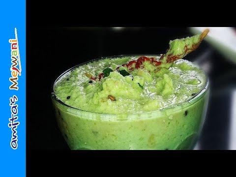 Khobryachi Chatni in Marathi | Coconut Chutney (for idli / dosa / vada)