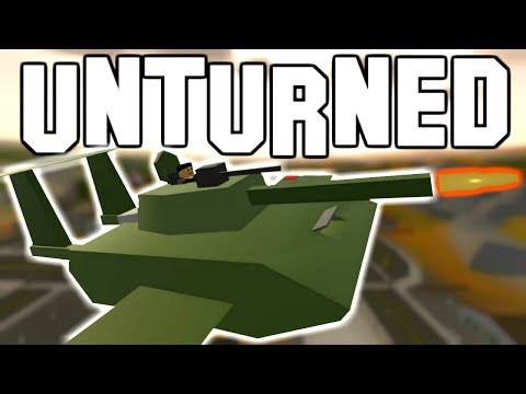 250 AUTOMATIC MISSILE FLYING TANK! (Unturned)